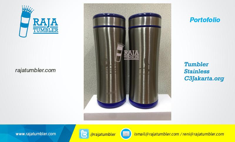 Supplier Tumbler-stainless-steel-c3jakarta,-Jual termos minum-stainless-c3jakarta,-Grosir termos-promosi,-mug-stainless